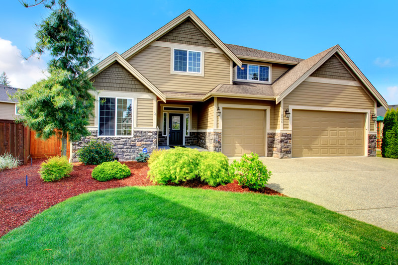 front of house with nice landscaping